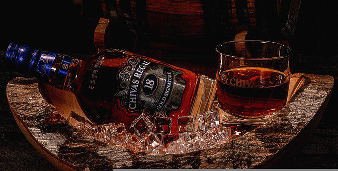 Whiskey, Alcohol, Drink, Bar, Glass, Restaurant, Bottle