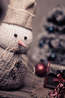Snowman, Christmas, Decoration, Holiday, December
