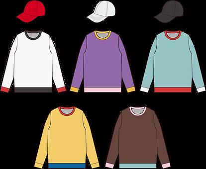 Long-sleeves, Cap, Fashion, Design, Top, Shirt