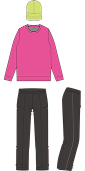 Sweatshirt, Sweatpants, Cap, Sweater, Pants, Jogger