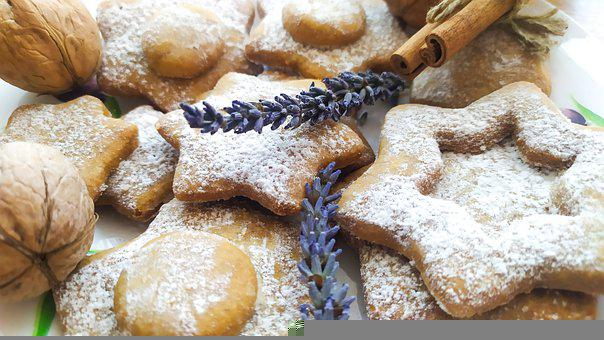 Cookies, Food, Christmas, Bakery, Baked, Baked Goods