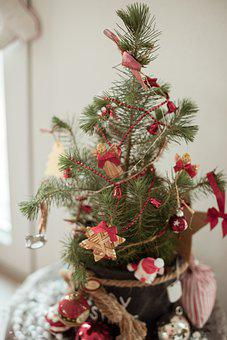 Christmas, Christmas Tree, Ornaments