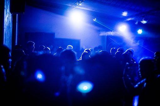 Party, Dj, People, Music, Dance, Concert, Club, Lights