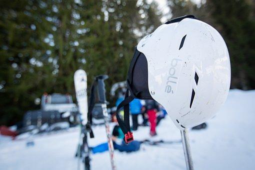 Helmet, Ski, Equipment, Hill, Snow, Ice, Frost, Resort