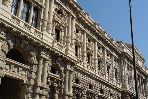 Building, Houses, Facade, Window, Road, City, Italian