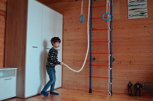 Children's Room, Sports, Sports Wall, Swedish Wall
