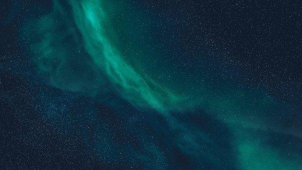 Polar Lights, Night Sky, Stars, Northern Lights