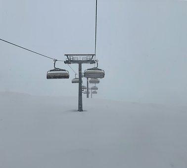 Ski, Resort, Winter, Snow, Chairlift, Cablecar, Tyrol
