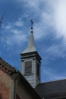 Church, Sky, Cruz, Architecture, Religion, Christianity