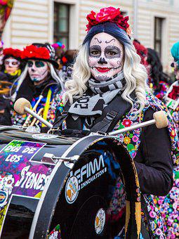 Guggenmusik, Band, Parade, Drum, Drummer, Costume