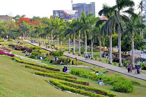 Myanmar, Yangon, Park, Nature, Burma, Asia, Travel