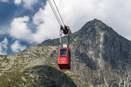 Cable Car, Cable, Mountain, Cable Transport, Transport