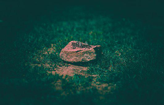 Rock, Miniature, Figure, Bizarre, Bokeh Panorama
