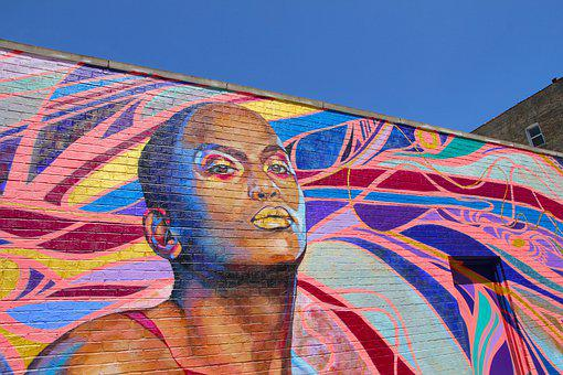 Mural, Chicago, Lakeview, Street Art
