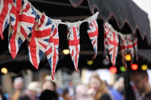 Flags, Covent Garden, London, British Flag