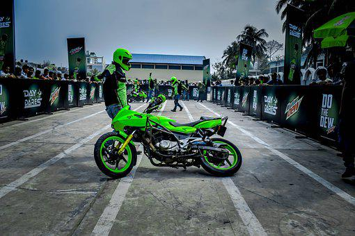 Motorcycle, Motorbike, Race Track, Race, Competition
