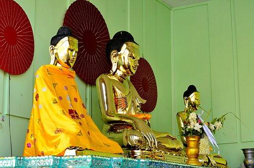 Yangon, Burma, Myanmar, Buddha, Shwedagon, Asia, Temple