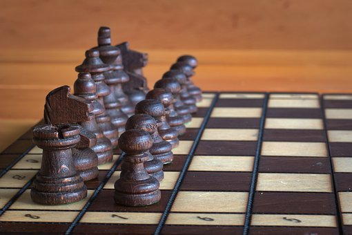 Chess, Pawn, Tower, Horse, Knight, Number, Column
