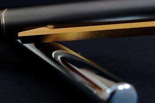 Fountain Pen, Filler, Paper, Write, Pen, Letters