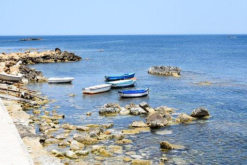 Sea, Ocean, Water, Boat, Seascape, Summer, Travel