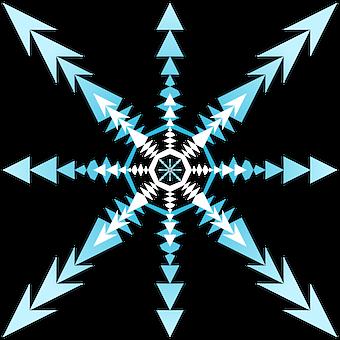Snowflake, Snow, Winter, Snowflakes, Cold, Snowfall