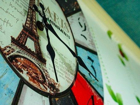 Clock, Hour, Minutes, Time, Decorative, Decoration