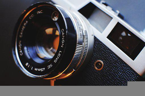 Camera, Analog, Lens, Photography, Close, Close-up