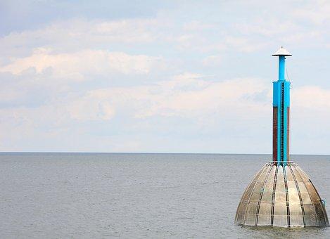 Baltic Sea, Diving Bell, Zingst, Coast, Diving Gondola