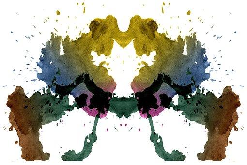 Rorschach, Test, Ink, Silhouette, Summary, Psychology