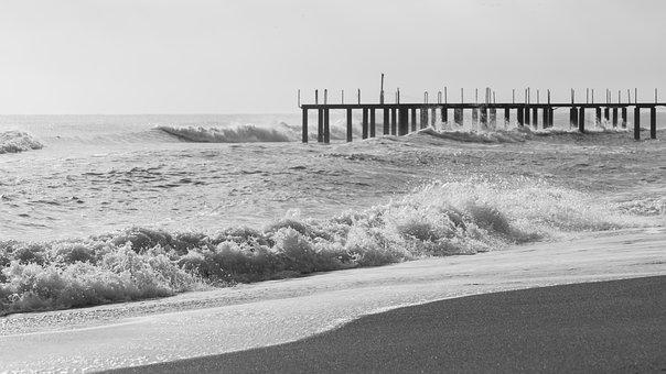 Beach, Marine, Waves, Tropical, Travel, Coastal, Wave
