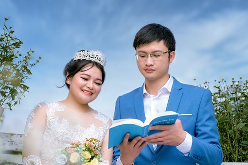 Bride, Wedding, Portrait, Woman, Wedding Dress