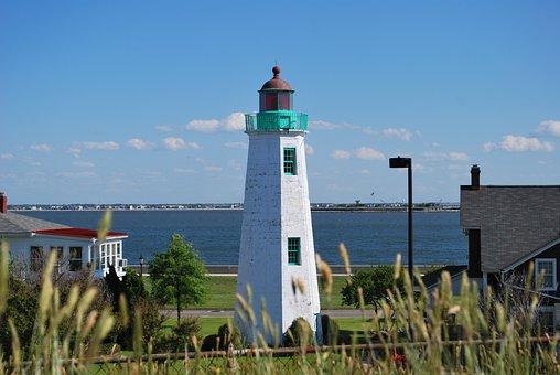 Lighthouse, Tower, Bay, Seaside, Building, Coast