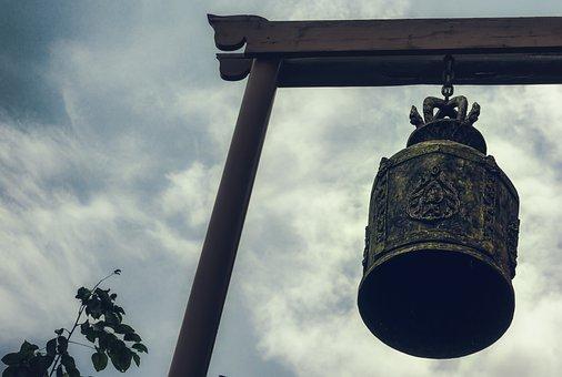 Bell, Metal, Iron, Ring, Sound, Prayer Bell, Decor