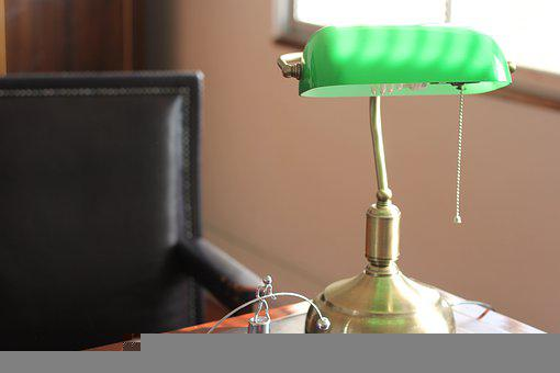 Lamp, Desktop, Light, Office, Bulb, Invention, Webinar