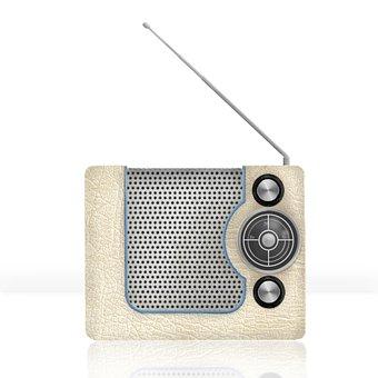 Radio, Vintage, Music, Design, Retro, Nostalgia, Old