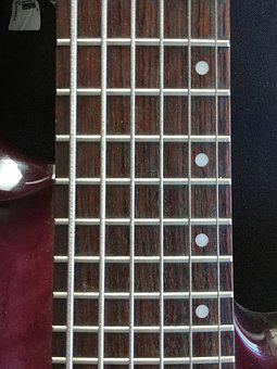 Bass, Strings, Guitar, Bass Guitar, Fretboard, Music