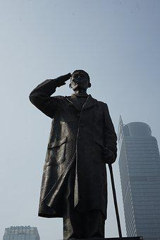 Sculpture, Statue, Monument, Building, Sudirman