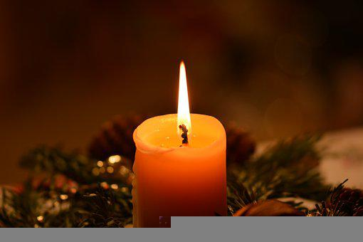 Candle, Candlelight, Flame, Mood, Decoration, Decor