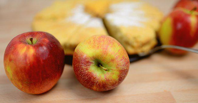 Apples, Red Apples, Ripe Apples, Fruits, Fresh Fruits
