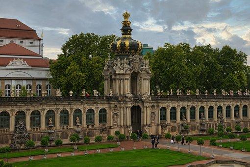 Dresden, Saxony, Historic Center, Architecture, Germany