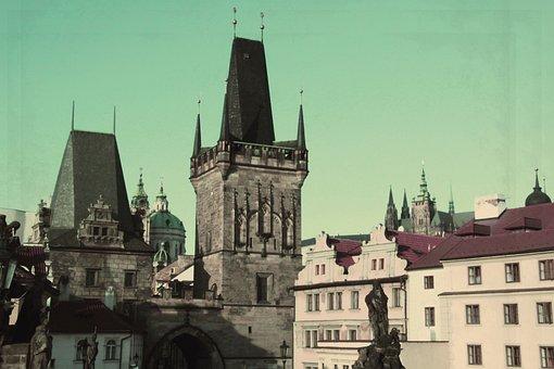 Prague, Buildings, Vintage, Old, Old Buildings, City