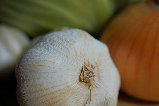 Garlic, Vegetable, Food, Ingredient, Produce, Organic