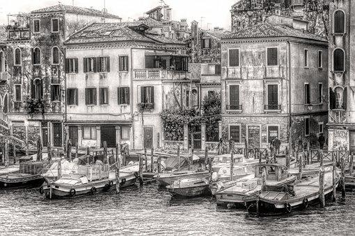 Venice, Italy, City, Water, Architecture, Travel, Canal