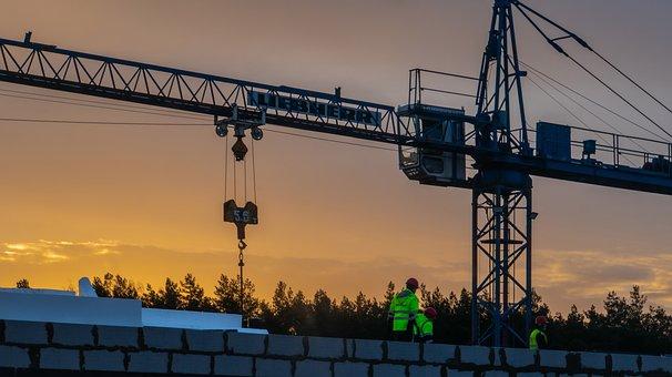 Crane, Construction, City, Architecture, Industrial