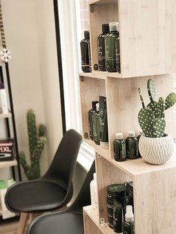 Hair Salon, Lobby, Waiting Room, Hair Products