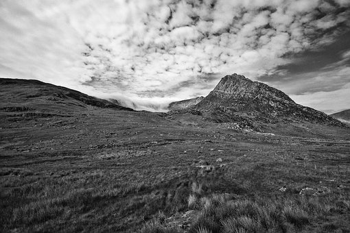 Ogwen Valley, Wales, Mountains, Valley, Snowdonia