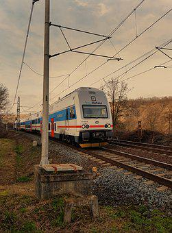 Train, Railway, Travel, Rail, Railroad, Rail Track