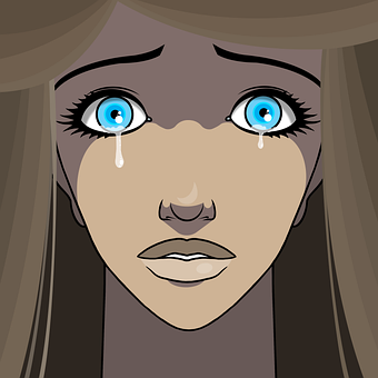 Woman, Crying, Tears, Sad, Sadness, Despair, Unhappy