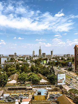 Sky, Architecture, Skyline, View, Nairobi, City, Kenya