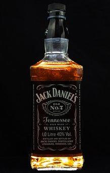 Whiskey, Bottle, Alcohol, Drink, Beverage
